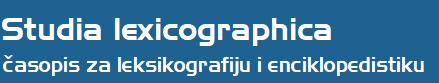 Studia lexicographica